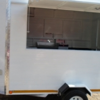 Fully fitted 2.5 Mobile food trailer