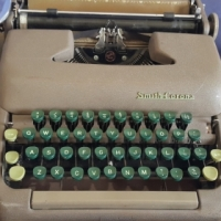 Smith Corona 5C typewriter, serviced