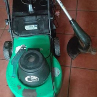 Electric lawnmover and weateater