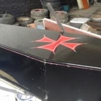 coffin - movie prop