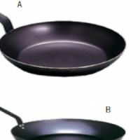 BLUE STEEL FRYING PANS