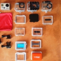 Gopro Hero 2 - video camera - and accessories