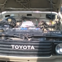 toyota landcruiser 70 series swop for bike or car