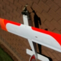 60 size Stick rc plane