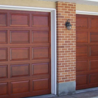 Second hand and first hand Garage doors with installation