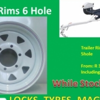 Trailer Rims 6 Holes