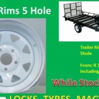 "Trailer Rims 14"" with 5 holes"
