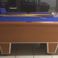 Pool table and accesories