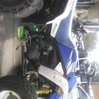 Complete Running  Yamaha Blaster stripping for spares Andre 0815865224