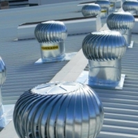 Roof Turbines, Natural Air Ventillation, Chimney Champ, Evaporative Coolers, Industrial, Residential