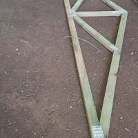 Roof trusses for sale.