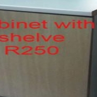Cabinet With Shelve