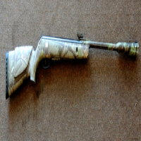 Camouflage Pallet Gun