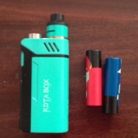 V-Box (RDTA-Box) and 2 rechargeable batteries for sale.  Almost brand new.