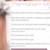 Permanent Makeup Treatments Rotary & Embroidery