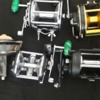 bass float tube and fishing reels