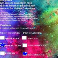 Amazi colour dye