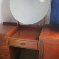 Art Deco style dressing table.