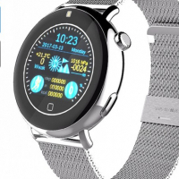 Bluetooth Smart Watch EXE C7 - Pedometer, Sleep Monitor, Touch Screen, Heart Rate, Phone Calls, Mess