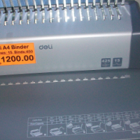 Deli A4 Binding Machine-NEW...Office Manual Binder
