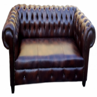 NEW Chesterfield Couch Suite in Genuine Leather_R25000.