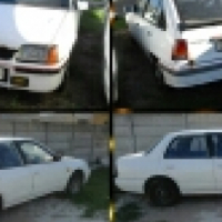 Selling Two cars as scrap