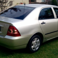 Toyota Corolla 140i running and good condition licence upto date