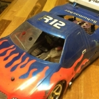 Fusion remote control cars to swap 4 battery op drift car