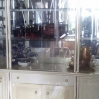 glass display cabinet imported from italy 20 years ago