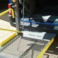 Vehicle Skyjack for wheelchair users