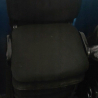 Black Fabric Conference chairs