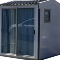 Delivery of a 2.1m X 2.4m Insulated Guard House/Site Office in a few hours