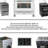 Gas Stoves Available From R 2 815.00+