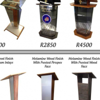 LECTERNS - PODIUMS - PULPITS FOR SALE!