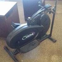 OrbiTrek + oefin fiets