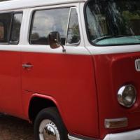 1972 VW Kombi ready to drive away