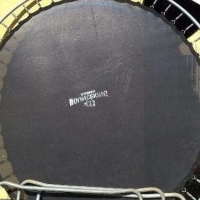 10 Ft 3 Meter Bounce King Trampoline good condition excludes net and spring cover