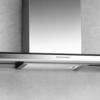 Extractor flat glass 900mm