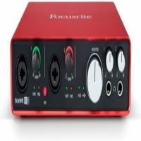 FOCUSRITE SCARLETT 6I6 GEN 2 USB AUDIO INTERFACE.