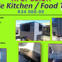 FOR SALE BRAND NEW FOOD TRAILER / MOBILE KITCHEN