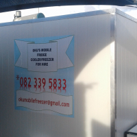MOBILE FREEZE/COOLER FOR HIRE