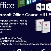 5 Day Microsoft Office Course - R 1,975 p/p
