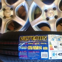 New 14'' mags 4x100 with new 175/65/14  4x new tyres combo r4799