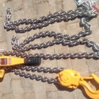 kitto lever hoist 6.3 Ton with overload device