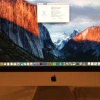 iMac (27-inch, 3.2 GHz Intel Core i5) and a MacBook Pro (Retina, 15-inch)