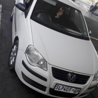 polo 1.4i trandeline white 2006 model agent sale