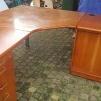 Executive cherry L shape desk