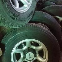 Full set Isuzu wheels