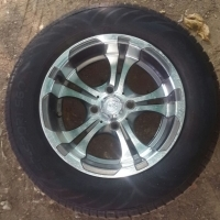 """13 """" mags with new tyres"""