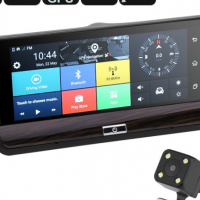 Android Car DVR System - 6.8 Inch Touch Screen, Dual-Camera, Android 5.0, 3G Support, WiFi, Google P